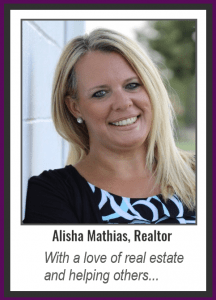 ailisha mathias realtor with a love of real estate and helping others