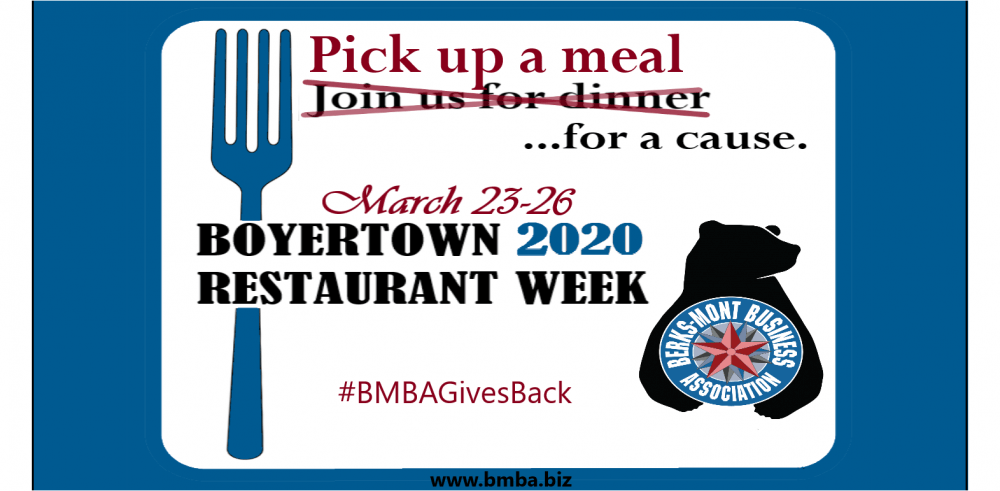 pick up a meal for a good cause at boyertown restaurants